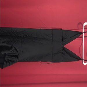 Black Ruffle Gown